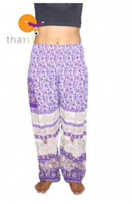 Amazingly comfortabe Purple beauty elephant yoga pants
