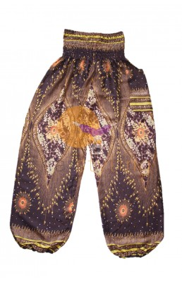 Amazingly comfortable Brown Paisley yoga pants