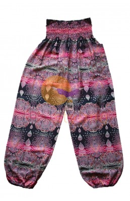 Amazingly comfortable Pink Paisley yoga pants
