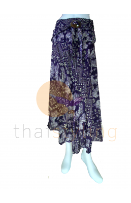 Purple behemian skirt